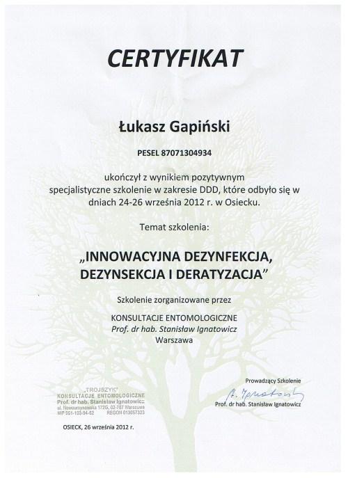 Innowacyjna dezynfekcja, dezynsekcja i deratyzacja