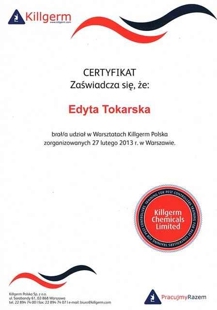 Warsztaty Killegerm Polska 2013