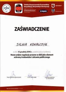 Unijne regulacje prawne w DDD jako element ochrony środowiska i zdrowia publicznego