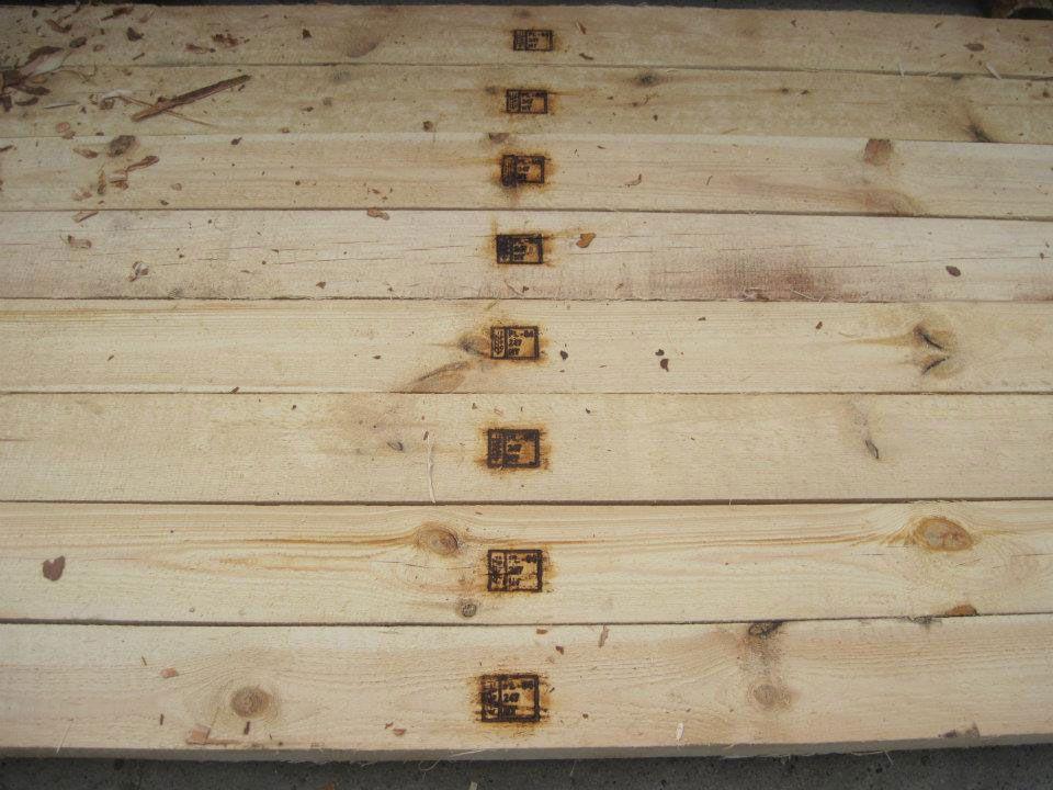 palety fumigowane, deski fumigowane, drewno fumigowane, fumigacja palet