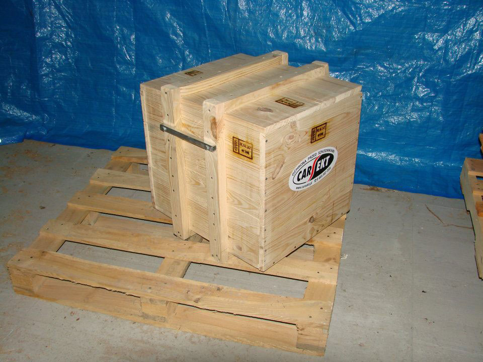 Fumigujemy palety i opakowania drewniane wraz z normą ISPM 15,