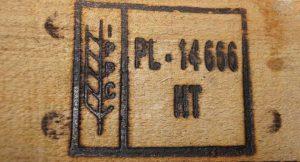 ISPM 15, fumigacja, gazowanie szkodników drewna w paletach