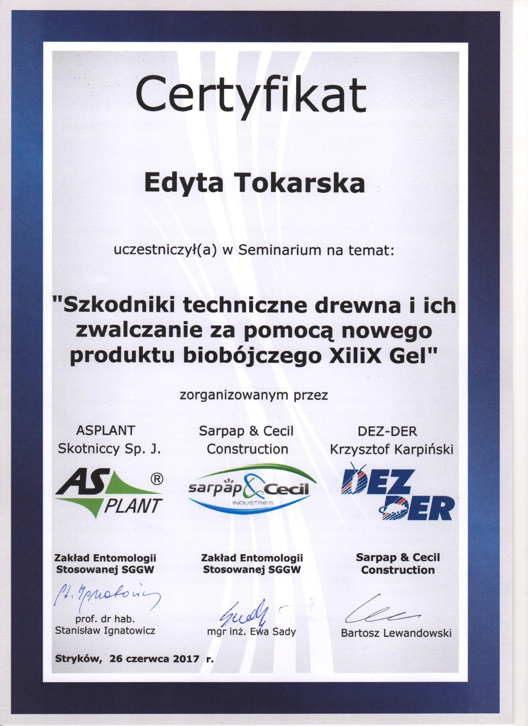 Zwalczanie szkodników drewna za pomocą nowego produktu biobójczego Xilix Gel