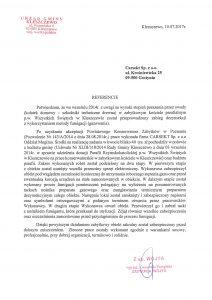 Carsekt - referencje Kościół Kleszczewo